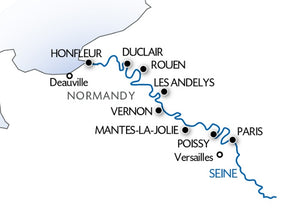 The Seine: From Paris to the Norman Coast (port-to-port cruise)