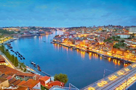 From Portugal to Spain: Porto, the Douro Valley and Salamanca (port-to-port cruise)