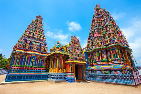 Tour India by cruise between Madras, Sri Lanka and Bombay (port-to-port)
