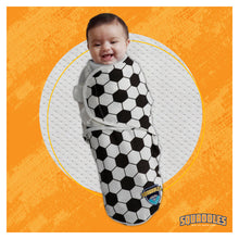 Load image into Gallery viewer, Swaddles for newborns, New dad presents, soccer