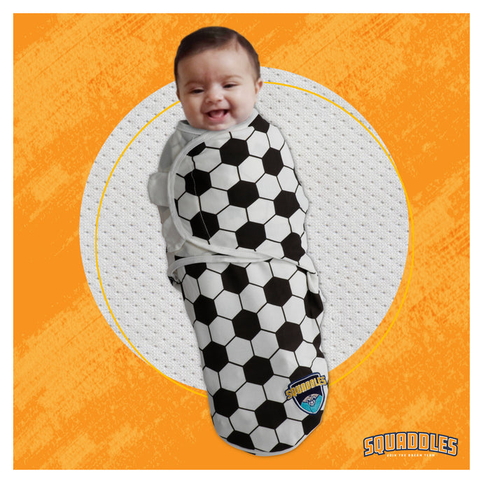 Swaddles for newborns, New dad presents, soccer
