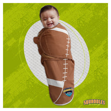 Load image into Gallery viewer, Swaddles for newborns, New dad presents, football