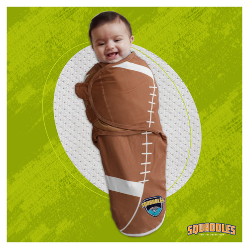 Swaddles for newborns, New dad presents, football