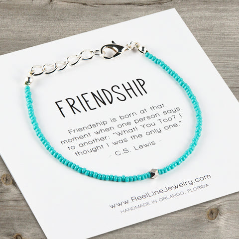 Geometric Minimalist Friendship Bracelet