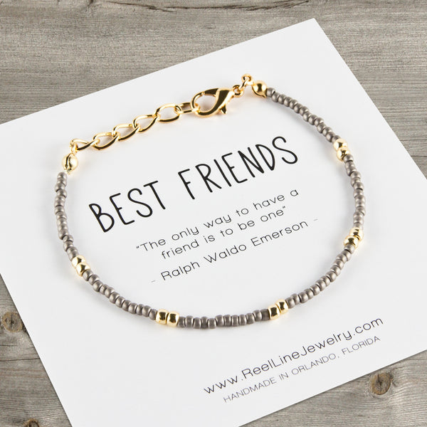 Boho Gold Best Friends Bracelet