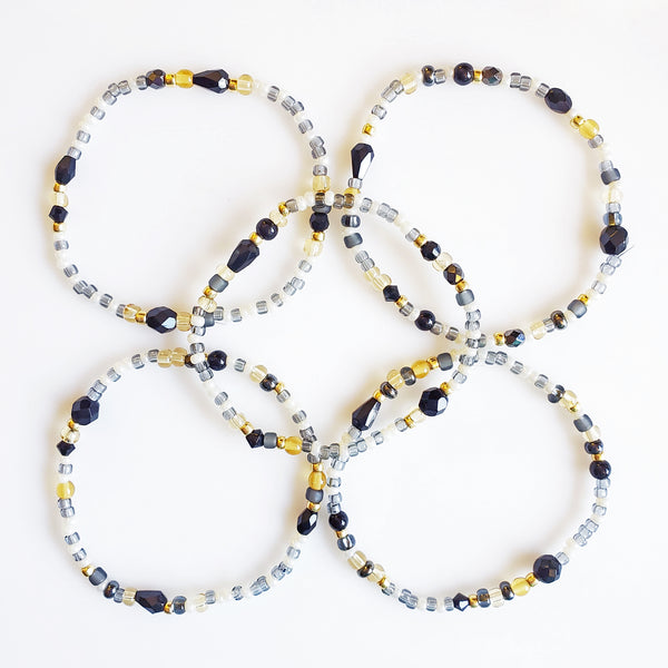 DIY Bracelet Kit - Makes 5 Stretch Bracelets. Free Shipping USA. Celebrate.