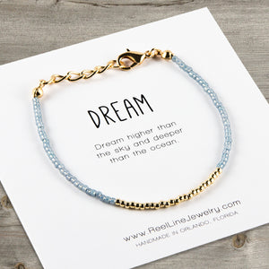 Minimalist Gold Dream Bracelet