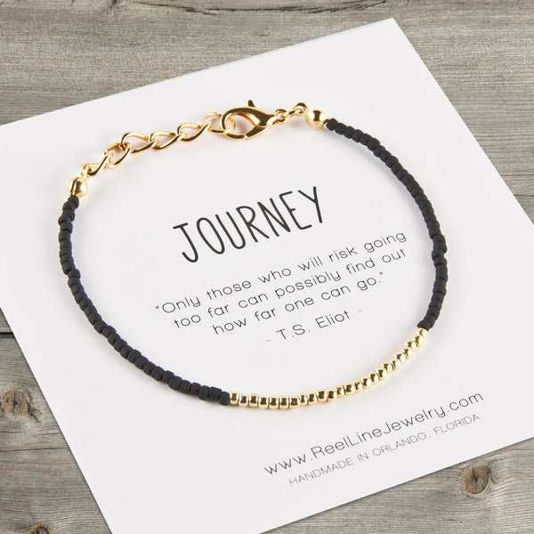 Minimalist Gold Journey Bracelet