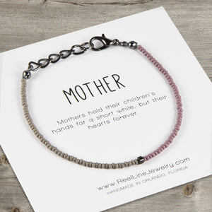 Split Color Mother Bracelet