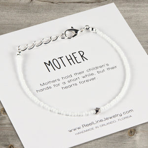 Geometric Minimalist Mother Bracelet