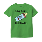 Drink Bottles Date Models T-Shirt Trendy Baby Clothes