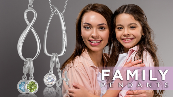 Family Charm Keeper Pendants