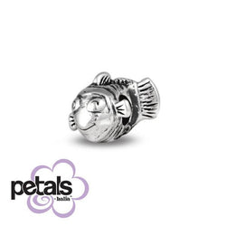 Swimming Upstream -  Petals Sterling Silver Charm