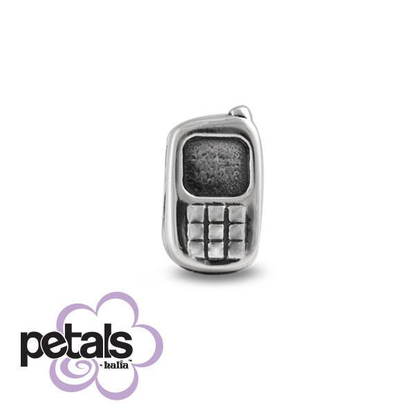Keep in Touch -  Petals Sterling Silver Charm