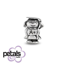 Head of the Class -  Petals Sterling Silver Charm