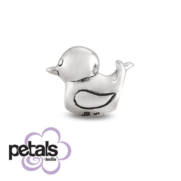 Quackers -  Petals Sterling Silver Charm