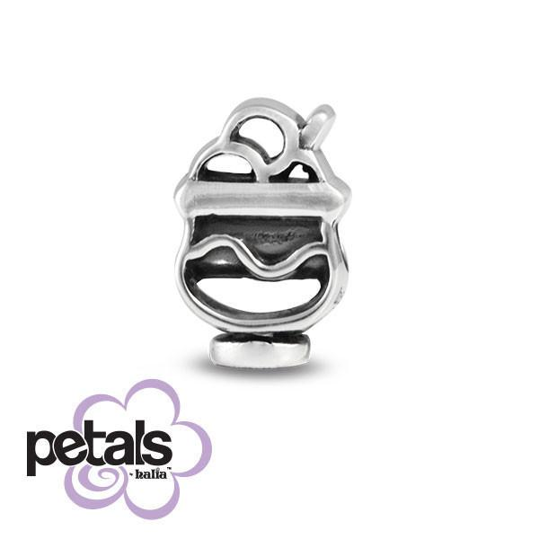 Sundae on a Monday -  Petals Sterling Silver Charm
