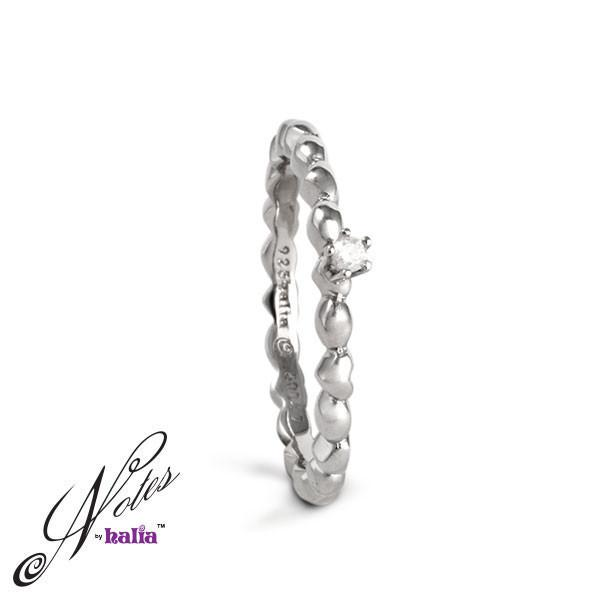 Love All Around Diamond Stacking Ring - Metalsmiths Sterling‰̣ۡå¢ Canada