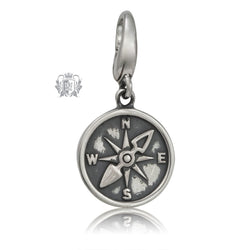 Metalsmiths Sterling Silver Compass Charm