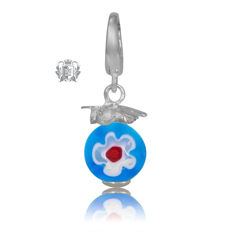 Dragonfly Glass Bead Charm - SAMPLE