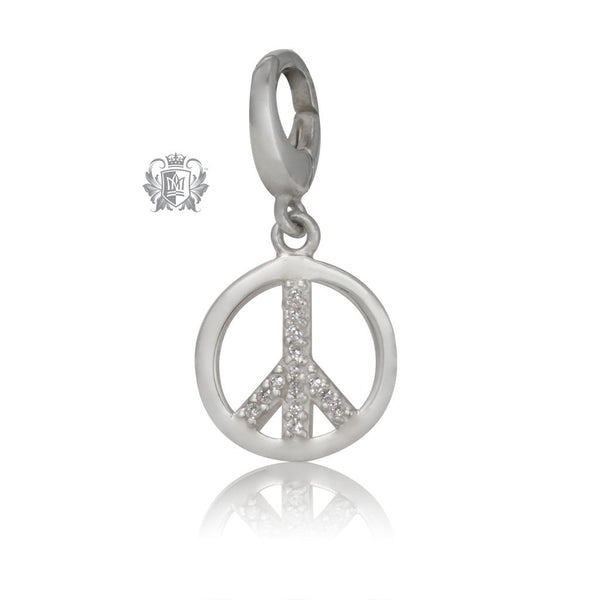 Peace Charm Metalsmiths Sterling Silver
