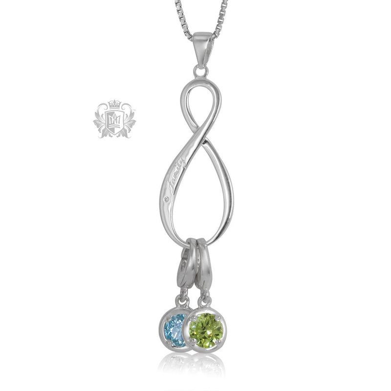 Forever Family Charm Keeper Pendant (Charms not included)