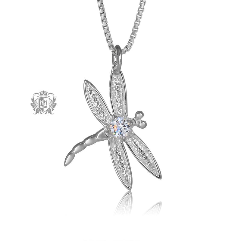 Cubic Dragonfly Pendant Metalsmiths Sterling Silver