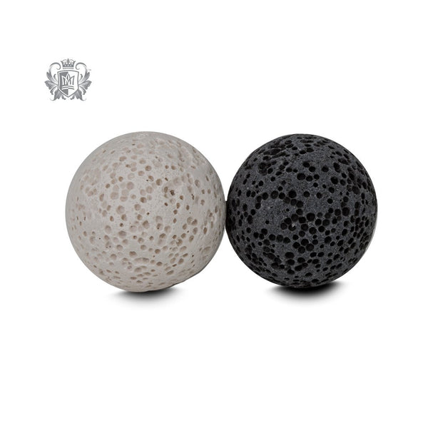 Perfect Scent Aromatherapy Large Lava Touchstones YIN YANG