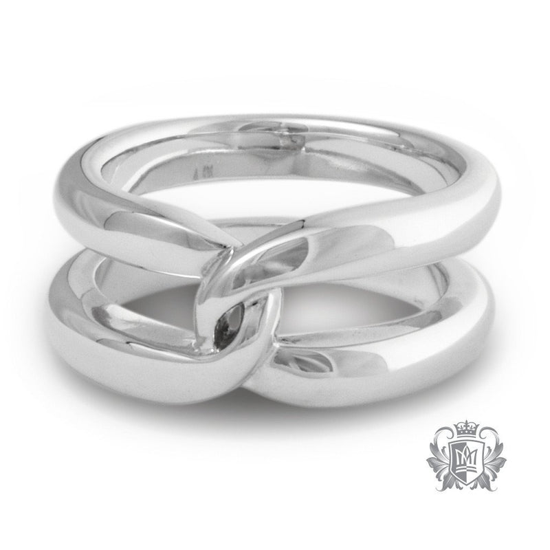 Single Hercules Knot Band - Metalsmiths Sterling'Ñ¢ Canada