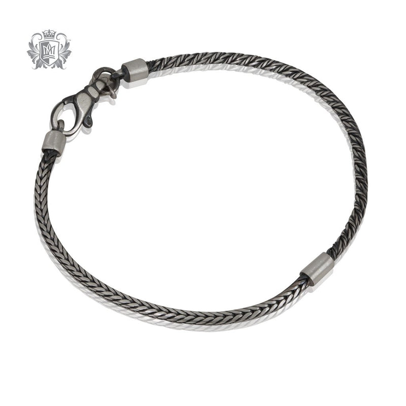 Street Finish Rover Barrel Bracelet