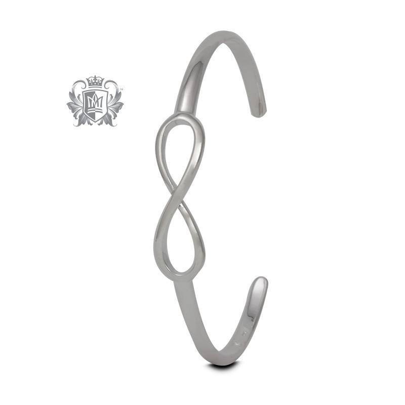 Eternal Loop Cuff Bangle - Metalsmiths Sterling™ Canada