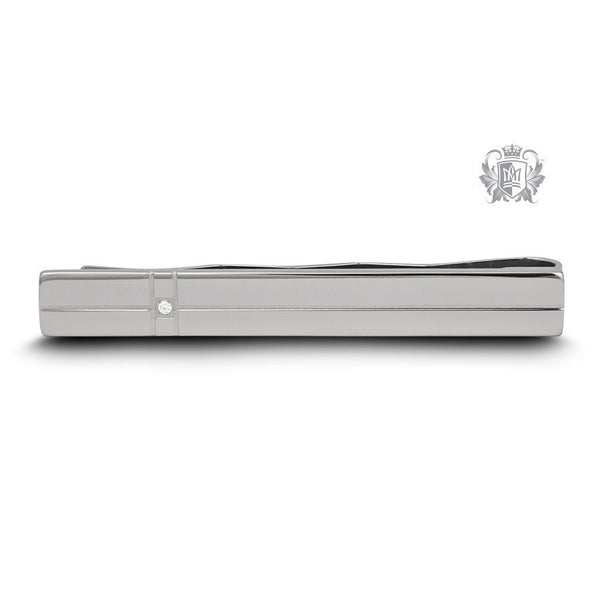 Linear Sparkle Tie Clip - Metalsmiths Sterling'Ñ¢ Canada