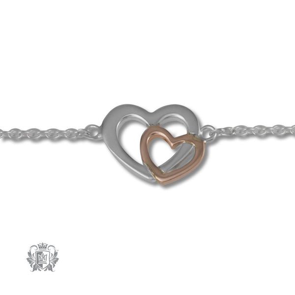 Love's Embrace Anklet - Metalsmiths Sterling'Ñ¢ Canada