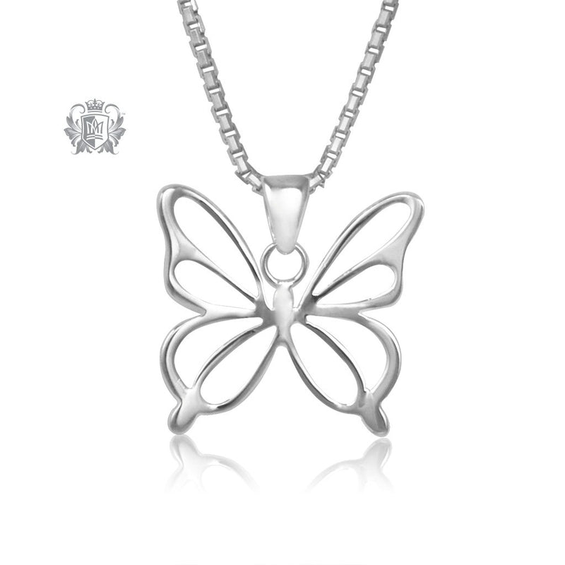 Butterfly Pendant Metalsmiths Sterling Silver