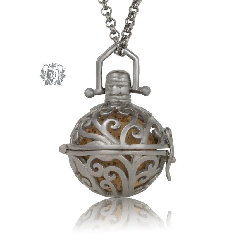 Perfect Scent Parisian Aromatherapy Locket - Antique/yellow