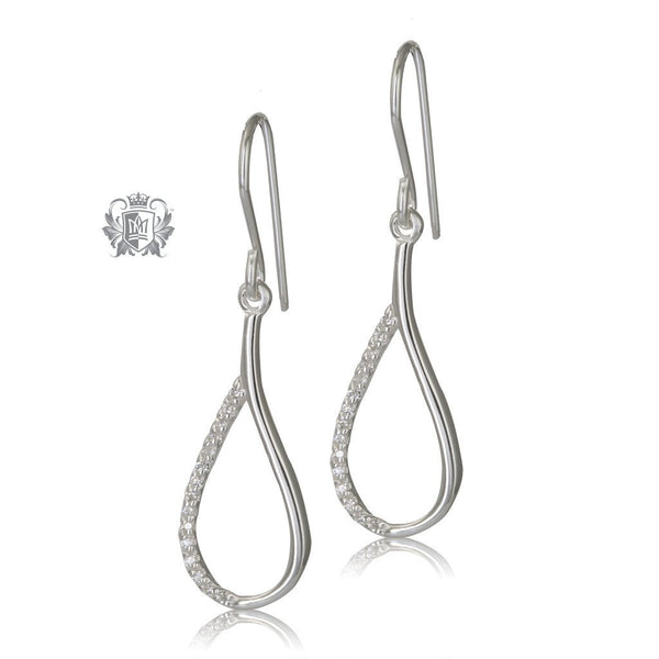 Metalsmiths Sterling Siler Divine Drop Earrings
