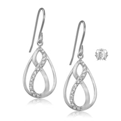 Eternal Cubic Hanger Earrings