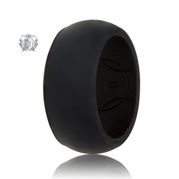 Unisex Silicone Active Band Black