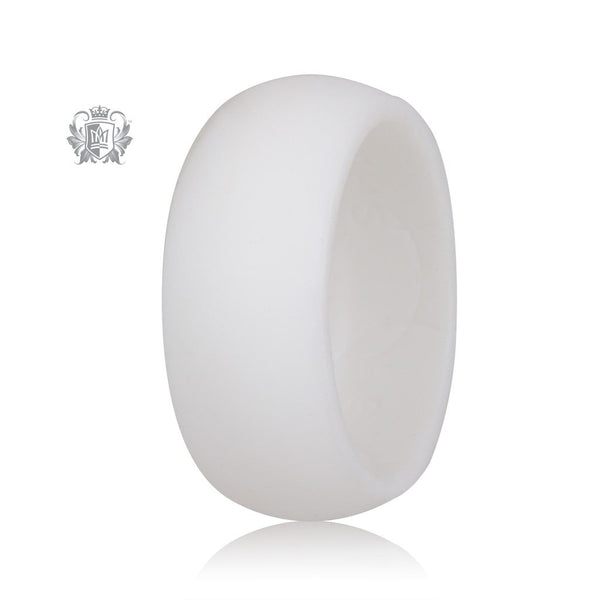 Unisex Silicone Active Band White