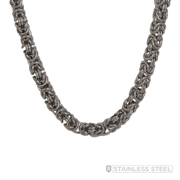 Stainless Steel Bizantino Chain