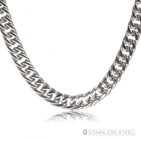 Flat Curb Stainless Steel Chain