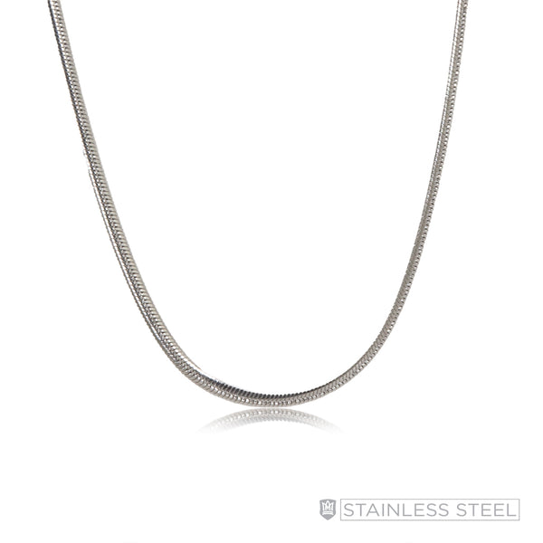 Flat Snake Stainless Steel Chain