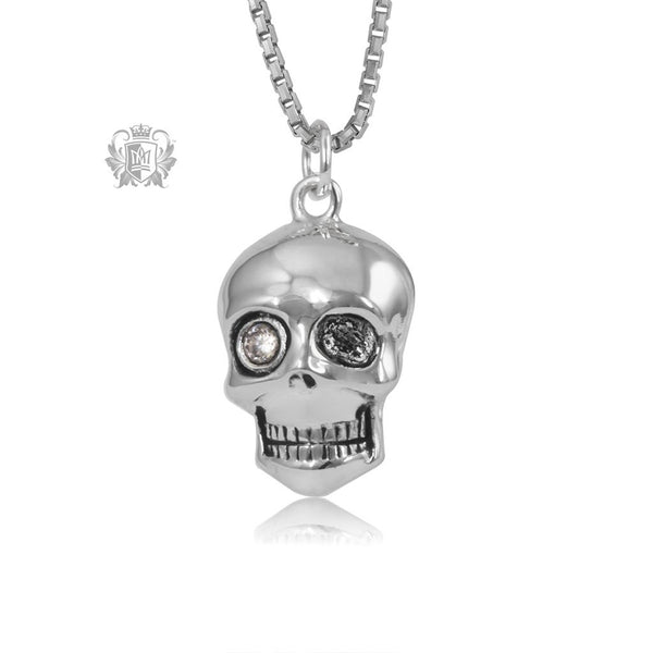 Skull Pendant with Cubic