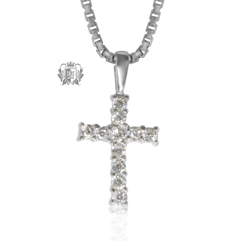 Cubic cross pendant
