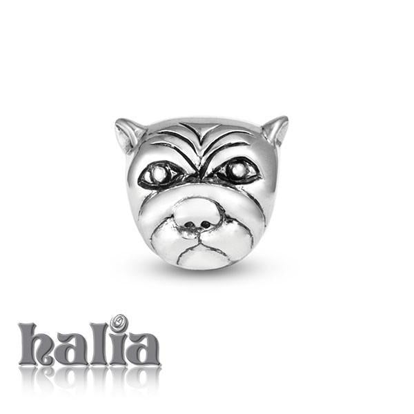 Puppy -  Sterling Silver Bead