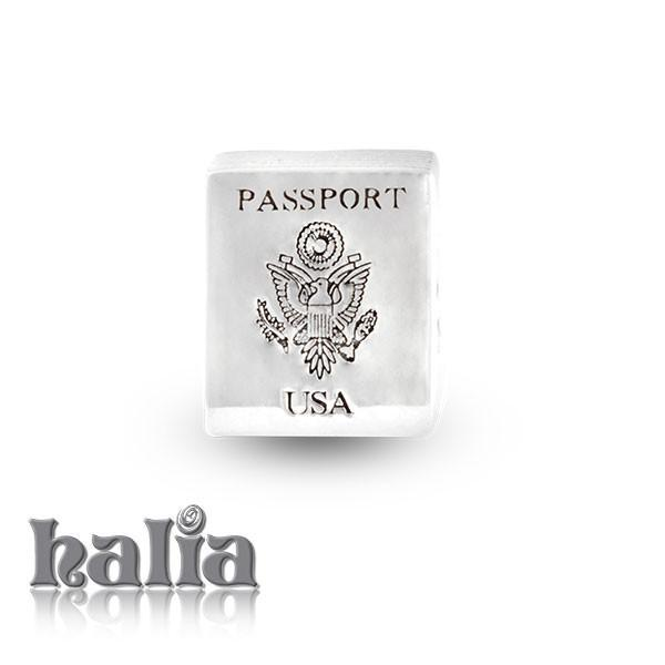 Passport -  Sterling Silver Bead