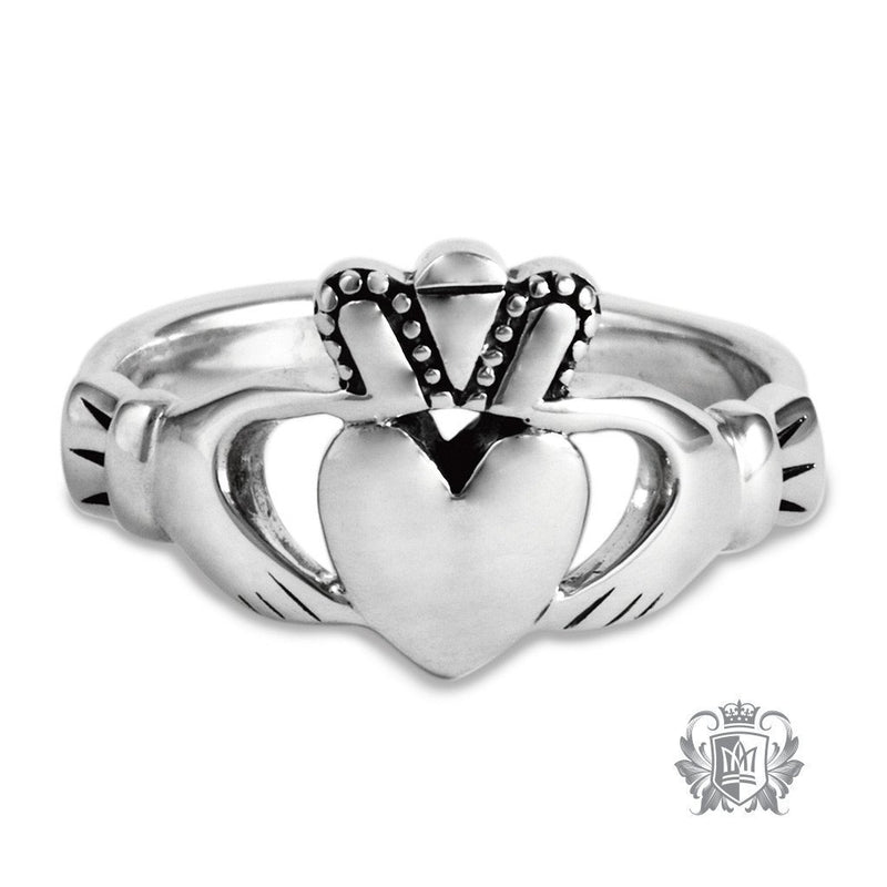 Large Traditional Claddagh Ring - Metalsmiths Sterling䋢 Canada