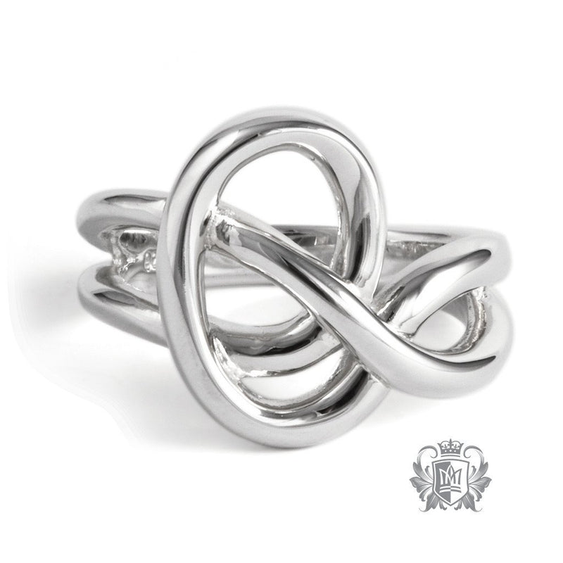 Heart Knot Ring - Metalsmiths Sterling™ Canada