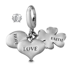 Faith Hope Love Charm -  Charm