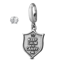 Keep Calm and Carry On Charm -  Charm